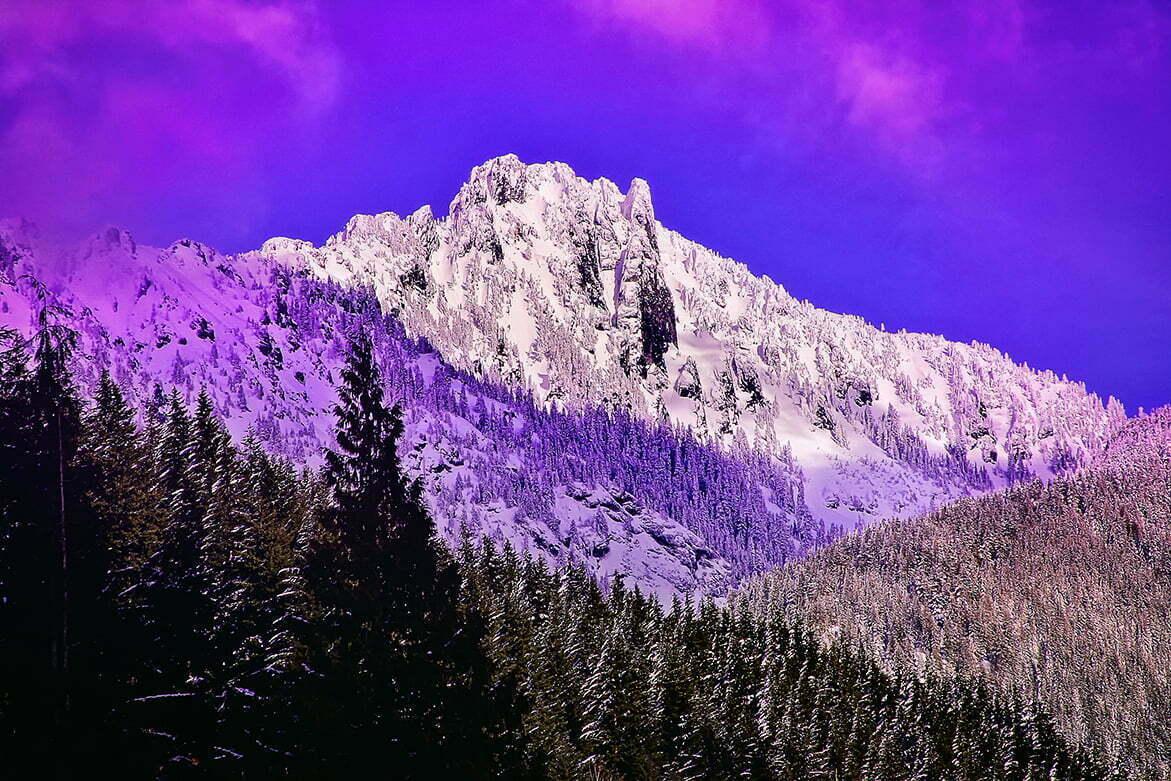 Purple Mountain Majesty | Leavenworth WA | © Jonathan McIntyre Photography